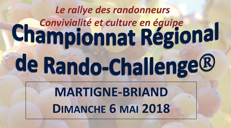 MAINE-ET-LOIRE: Rando-Challenge