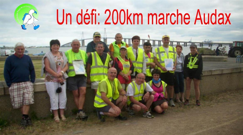 Pays-de-la-Loire: Un DEFI 200 km marche Audax
